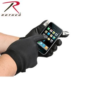 قفاز تكتيكي Touch Screen Neoprene, روثكو, اسود