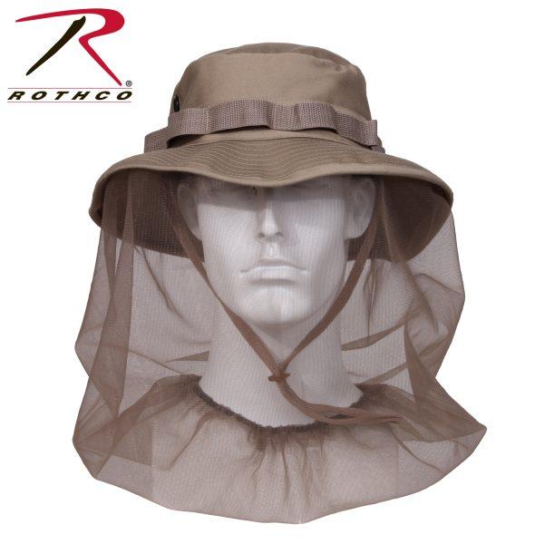 قبعات كاوبوي بشبكة ضد الناموس روثكو خاكي